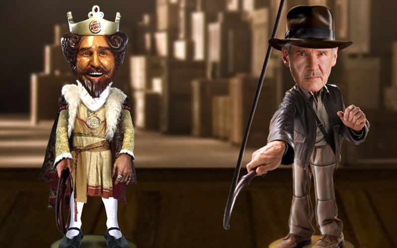 Burger King Indiana Jones