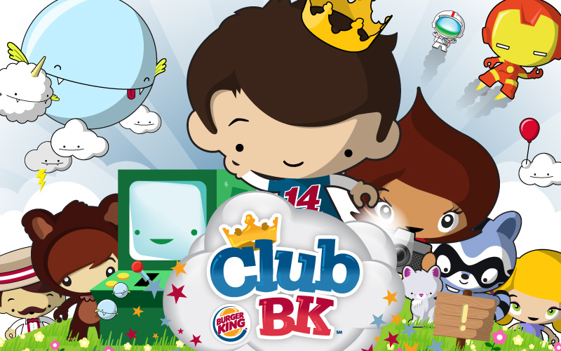 Burger King Club BK